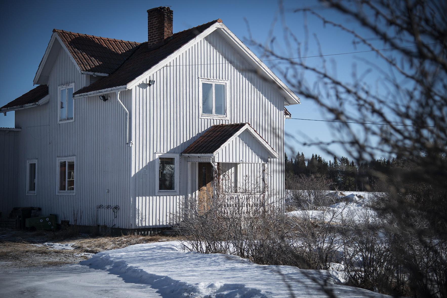 Hus, vinter